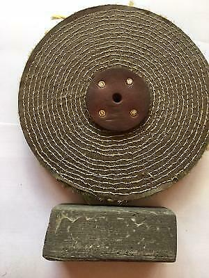 Polishing Mop Superior Sisal 8  X 1  For First Cut On Steel & Stainless UK MADE • 11£