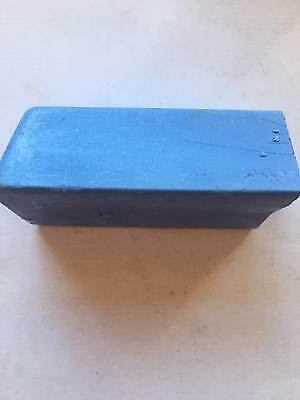 1 X 250 Gr BLUE  POLISHING BUFFING COMPOUND BAR  FOR FINISHING ALL METALS • 3.30£