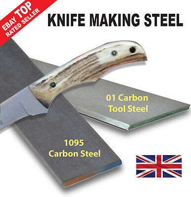Knife Making Steel 1095 Or 01 Tool Steel  - Fast Despatch - 2-3 Day Delivery • 15.95£