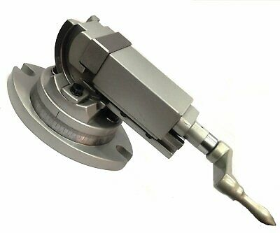 Precision Milling Vise Vice Swivel & Angle Tilting 2 Way-Jaw 2  Inches (50 Mm) • 103.84£