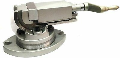 Precision Milling Vise Vice Swivel & Angle Tilting 2 Way-Jaw 3  Inches (75 Mm) • 169.23£