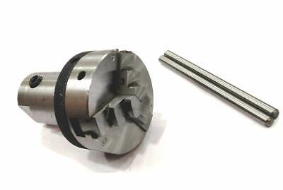 Spindle Adapter 3/4  X 16 TPI(M12x1Thraed  50 MM 3 JAW SELF CENTERING C) • 65.82£