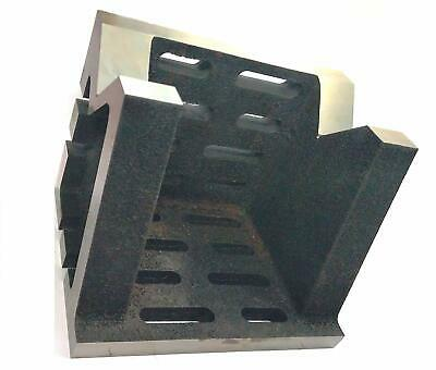 PRECISION GRADED CASTE IRON VEE ANGLE PLATES-HEAVY DUTY(6 X6 X8 (150x150x200mm) • 191.54£