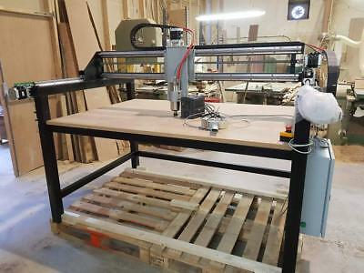 Cnc 3 Axis Woodwork Router/plasma Cutter Machine 5ftx3ft • 3,350£