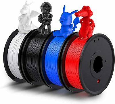 3D Printer Filament PLA 1.75mm Various Lengths And Colours UK Black White Lot • 33.99£