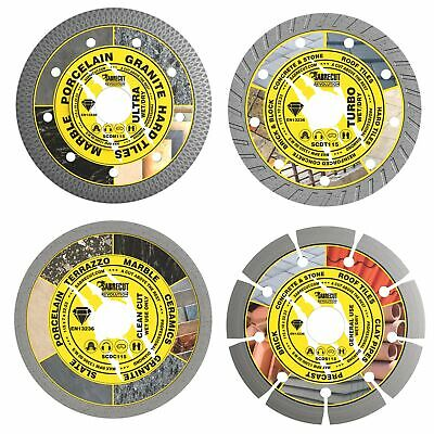 SabreCut 115mm Professional Diamond Cutting Disc Set Blades For Angle Grinder • 19.99£