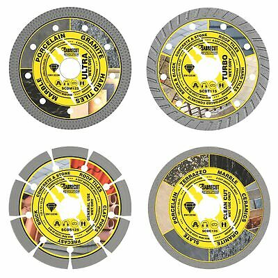 SabreCut 125mm Professional Diamond Cutting Disc Set Blades For Angle Grinder • 22.99£