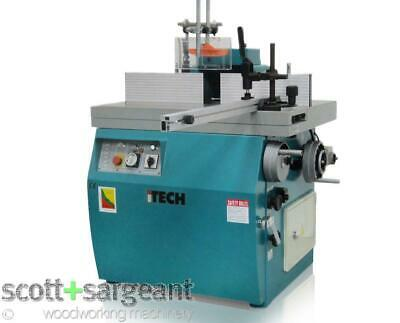 ITECH SM512TS Tilting Spindle Moulder 7.5hp >>Price Includes VAT<< • 7,194£
