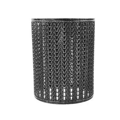 Modern Table Lamp/Ceiling Light Pattern Shades Easy Fit Brushed Silver Shades • 10.49£