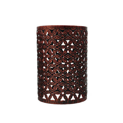 Easy Fit Pendant Modern Metal Drum Lampshade Rustic Red Colour Pendant Light • 10.49£