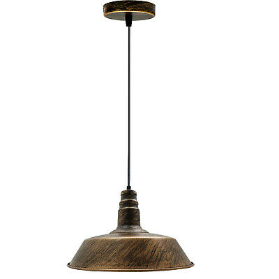 Easy Fit Pendant Light Metal Drum Black Colour Table Lamp/Ceiling Pattern Shade • 16.39£