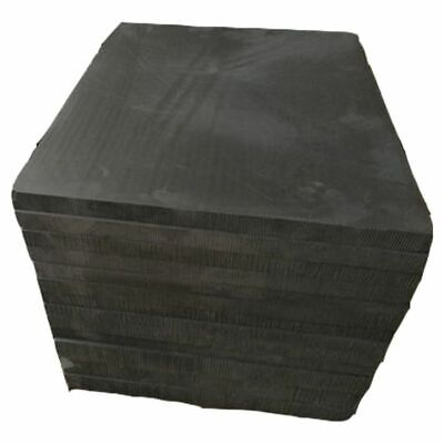 High Pure Carbon Graphite Sheet 100×100×2mm Electrode Plate Anode Panel Mould • 11.17£
