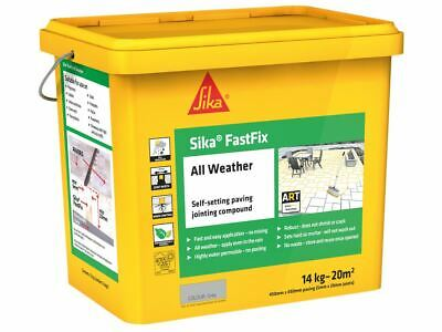 Everbuild Sika FastFix All Weather Grey 14kg • 44.15£