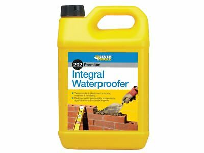 Everbuild 202 Integral Liquid Waterproofer 5 Litre • 6.36£