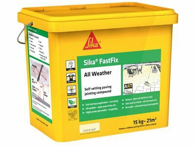 Everbuild Sika FastFix All Weather Buff 15kg • 45.92£
