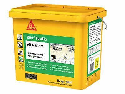 Everbuild Sika FastFix All Weather Flint 15kg • 45.92£