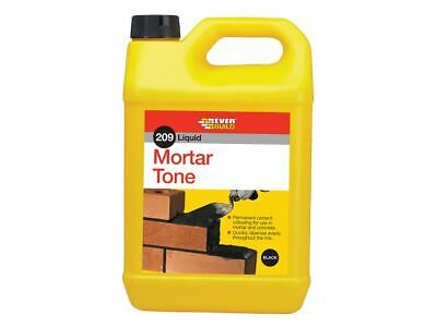 Everbuild Liquid 209 Mortar Tone Black 1 Litre • 10.70£