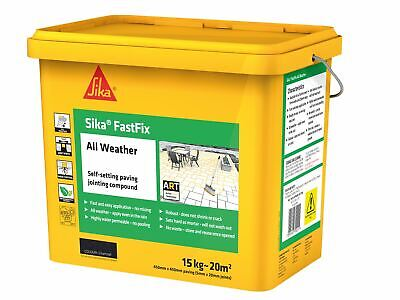 Everbuild Sika FastFix All Weather Charcoal 15kg • 44.15£