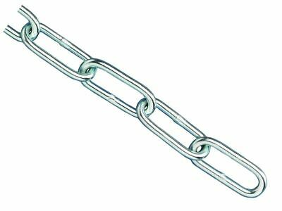 Faithfull Zinc Plated Chain 3mm X 2.5m - Max Load 80kg • 3.71£