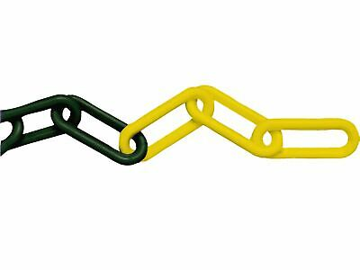 Faithfull Plastic Chain 8mm X 12.5m Yellow / Black • 26.80£