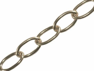 Faithfull Oval Chain 1.8mm X 10m Chrome • 51.36£