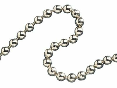 Faithfull Ball Chain Chrome 3.2mm X 10m • 12.95£