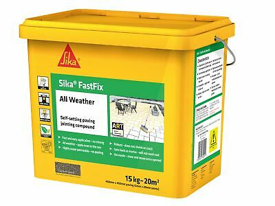 Everbuild Sika FastFix All Weather Stone 15kg • 45.92£