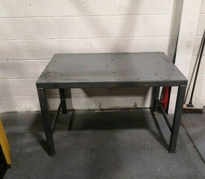 Welding Table 1200x1200mm 4 X 4 Foot Heavy Duty Packing Work Surface • 328£