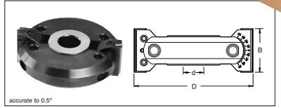NEW Trend ADJUSTABLE BEVELLING CUTTER D=120mm, B=40mm, 30mm Bore ALLOY • 194.94£