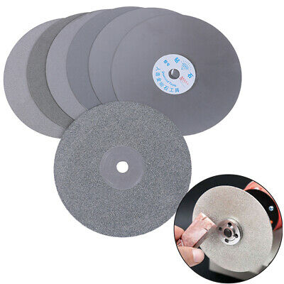 6  150mm Diamond Coated Flat Lap Disc Jewelry Polish Grinding Wheel 80~3000# JQJ • 10.87£
