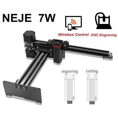 NEJE Master 7W- Engraver App Control Mini Carver Suit For Android Windows • 165.59£