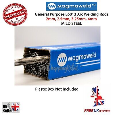 MAGMAWELD E6013 Arc Welding Electrodes Rods 2.0-4.0mm 5-100 Rods General Purpose • 29.99£