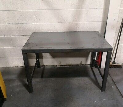 Welding Table 1500x700mm Heavy Duty Packing Work Surface • 348£