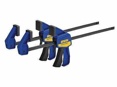 IRWIN Quick-Grip Mini Bar Clamp Twin Pack 300mm (12in) • 13.41£