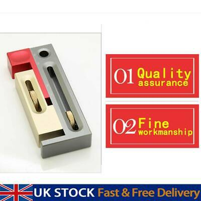 Woodworking Tools Saw Table Taw Gap Adjuster Tenon Mortise Tenon Movable UK • 16.37£