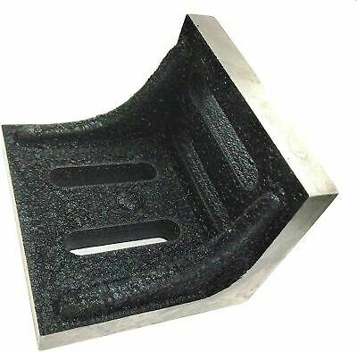 New Slotted Webbed Angle Plate- Stress RELIEVED (2-1/8 X3 X 2-1/8 /75x55x55mm) • 30.90£