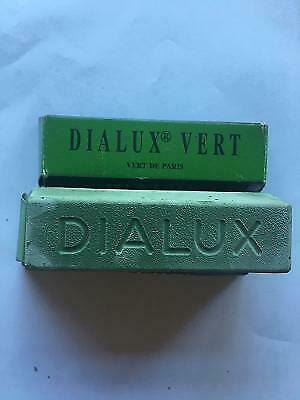 2 X BARS DIALUX GREEN BAR (Vert) For  FINISHING CHROME PLATINUM GOLD AND SILVER • 7.95£