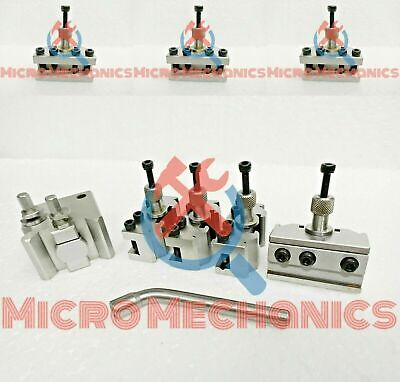 8 Pieces Set T37 Quick-Change Toolpost Myford Standard Boring And Parting Holder • 136.02£