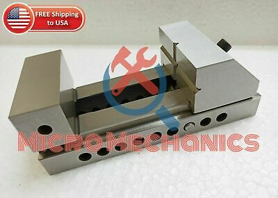 3'' Screwless Tool Making Grinding Precision Ground Vise .0002  Square Parallel • 82.04£