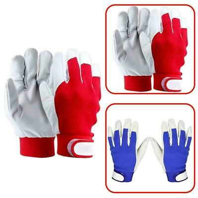 Finger Weld Welding Gloves Heat Shield Cover Safety Top Red/Bl Protection G M8I4 • 4.59£