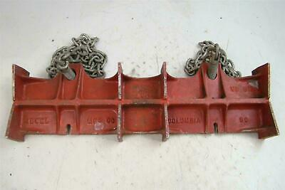 Jewel Columbia Straight Pipe Welding Chain Vise No. 2A 8-16  • 85.51£