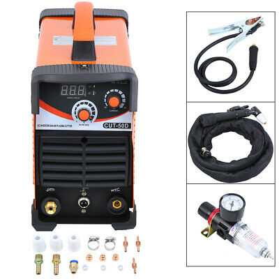 Ridgeyard CUT 50D Plasma Cutter 0.4MPa Air Plasma Cutting Machine 1-12mm 40W UK • 162£