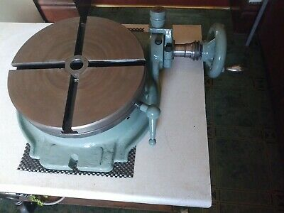 Hardimond 10 Inch Rotary Table, Good Condition • 400£