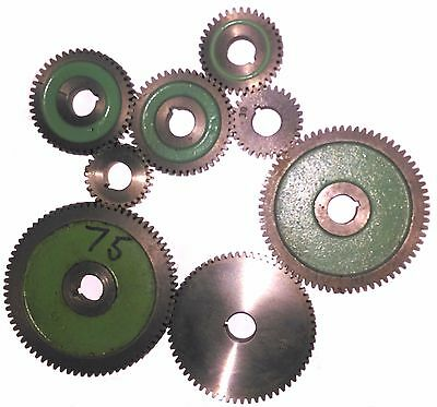 ASSORTED USED MYFORD CHANGEWHEELS GEARS FOR ML7 / SUPER 7 Direct From Myford Ltd • 13£