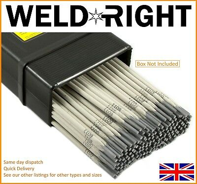 Weldright General Purpose E6013 Arc Welding Electrodes Rods 2.5mm X 20 Rods • 2.99£