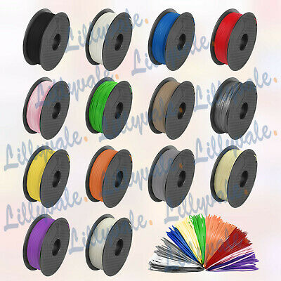 3D Printer Filament PLA/ABS - 1.75mm -1KG(350Meters) - Various Colours Available • 14.99£