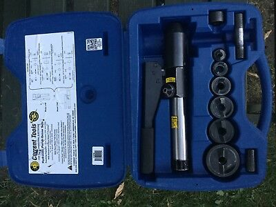 Current Tools Model 170pm Straight Hydraulic Punch Driver Set • 500£