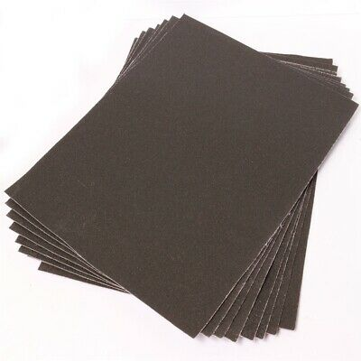 Large Emery Cloth Sheets Pack 60+100+150 GRITS Fine/Coarse Strong Sandpaper • 5.13£