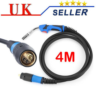 MIG Welding Gun Torch Stinger MB25AK Euro Fitting Connector 4Meter Welder Parts • 28.59£