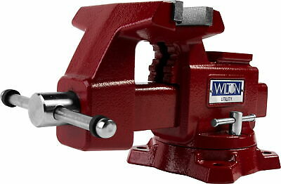 Wilton 28819 Utility Bench Vise 5-1/2 Jaw, 5  Jaw Opening, 360 Swivel Base • 222.01£